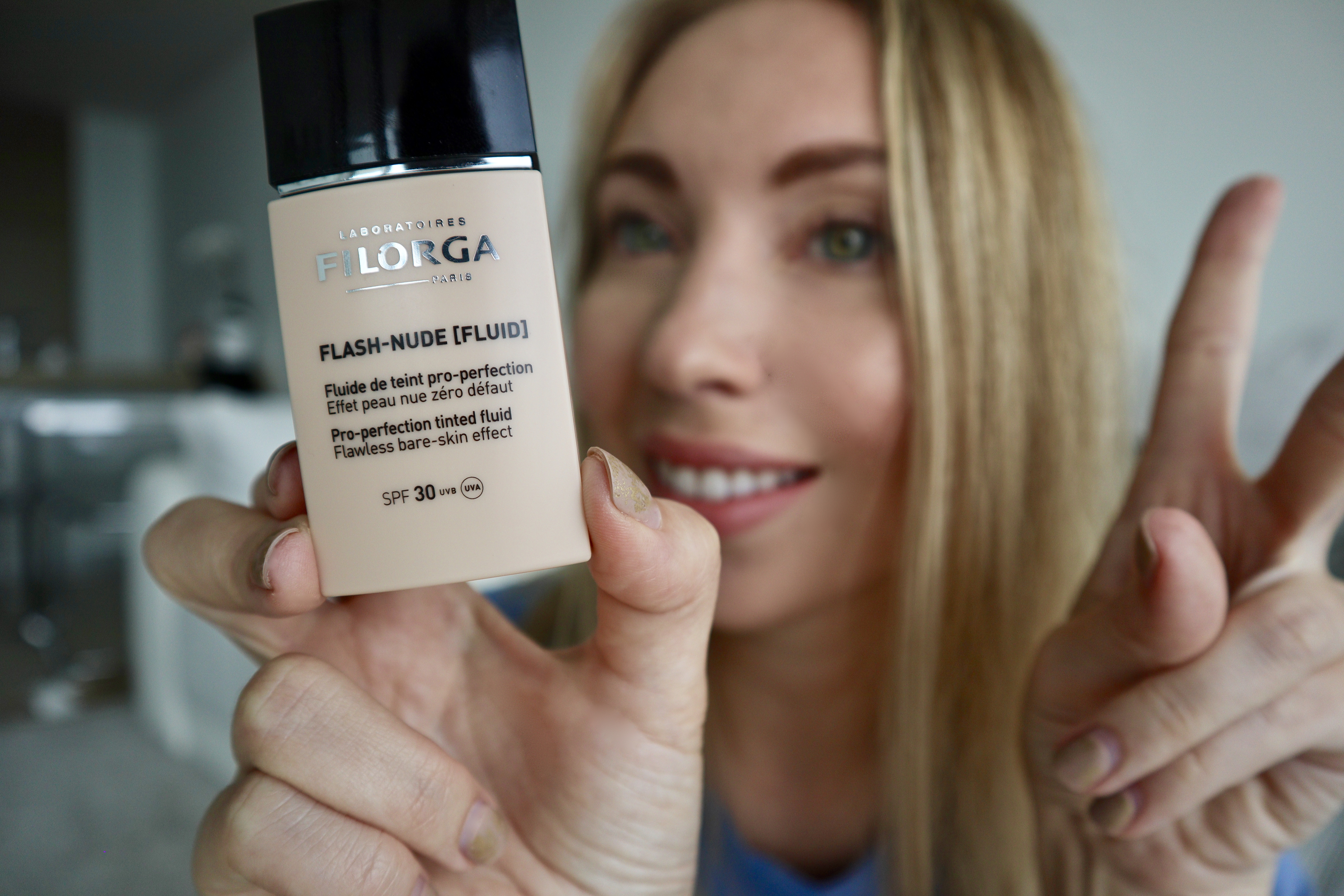 Filorga, Flash Nude Fluid Foundation​ with SPF 30