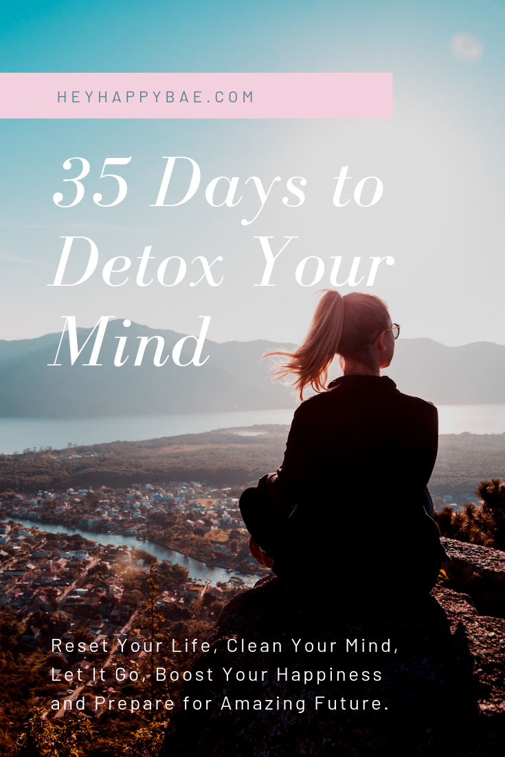 Online Courses for Women: 35 Days to Detox Your Mind