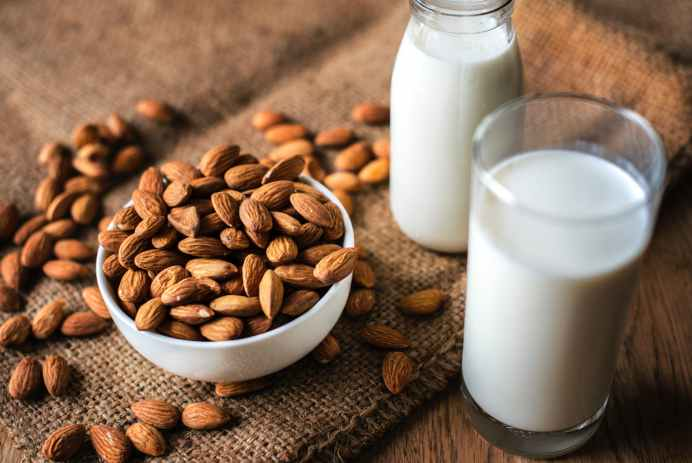 7 Days Challenge Almond Milk Beauty Secret